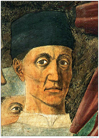 Piero della Francesca, Presumed self-portrait