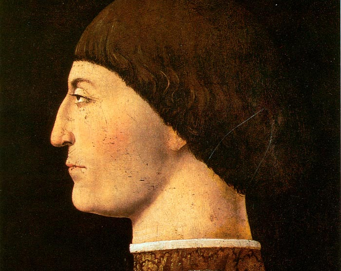 Piero della Francesca, Portrait of Sigismondo Pandolfo Malatesta (1451)