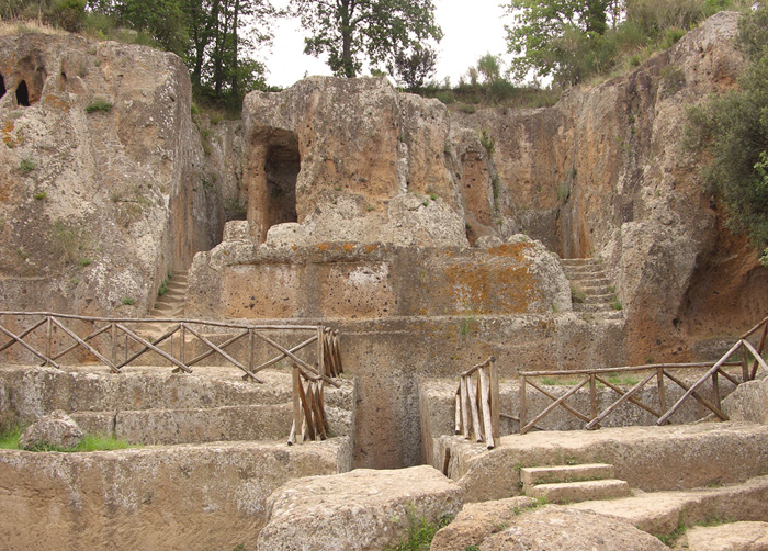 Tomb of Hildebrand, known as Tuscany's most significant Etruscan tomb